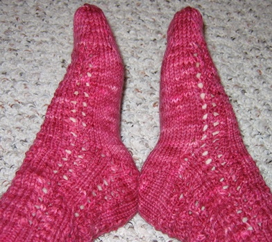 Bunny Hop Lace Socks